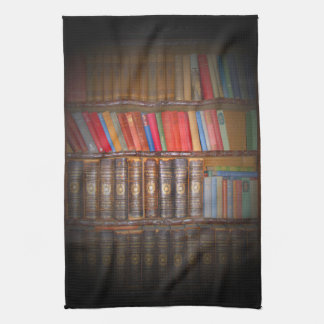 Vieux livres serviette pour les mains