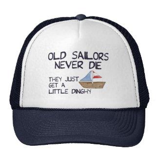 Vieux marins casquettes de camionneur
