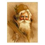 Vieux Monde le père noël, St victorien vintage Nic Carte Postale