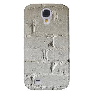 Vieux mur de briques blanc avec des recoins et des coque galaxy s4