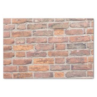Vieux mur de briques papier mousseline