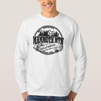 Vieux noir de cercle de Mammoth Mountain T-shirts