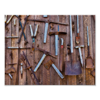 Vieux Outils Posters Vieux Outils Affiches