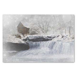 Vieux papier de soie de soie du moulin 10lb, blanc