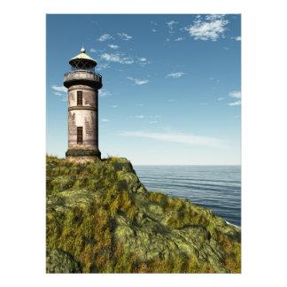 Vieux phare photo d'art