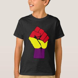Vieux poing espagnol de République T-shirt