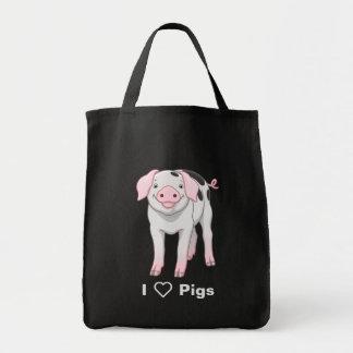 Vieux porc mignon de taches de Gloucestershire Sac