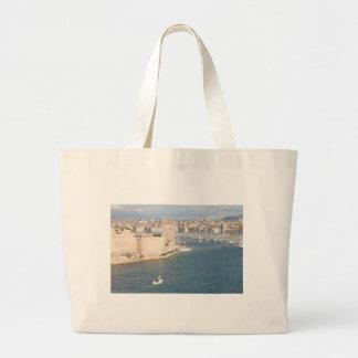 Vieux port de Marseille Sacs En Toile