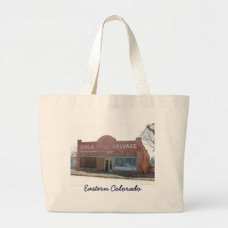 Vieux sac de bâtiment