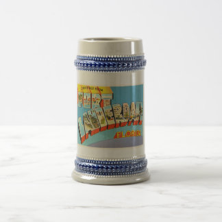 Vieux souvenir de voyage du Fort Lauderdale #2 la Chope À Bière