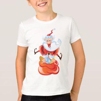 Vieux T-shirt drôle gai de St Nick pour des