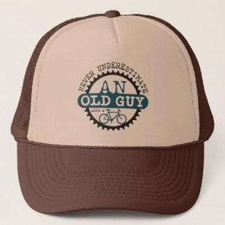 Vieux type casquette