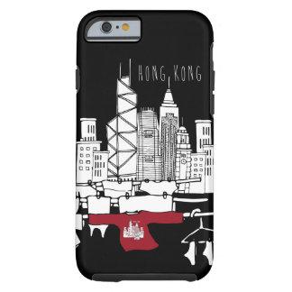 Vieux x nouveau paysage de Hong Kong Coque Tough iPhone 6