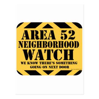 Vigie de quartier du secteur 52 carte postale