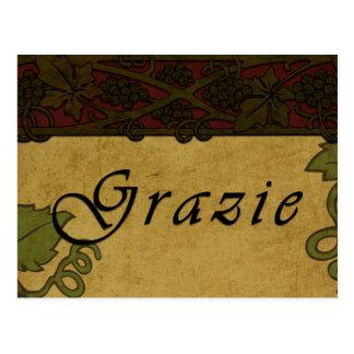 Vignes de Grazie - carte postale