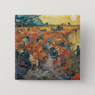 Vignobles de rouge de Vincent van Gogh | chez Badges