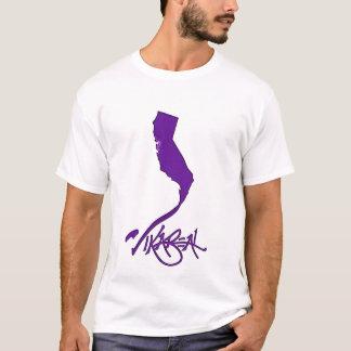 Vikareal la Californie (violette) T-shirt