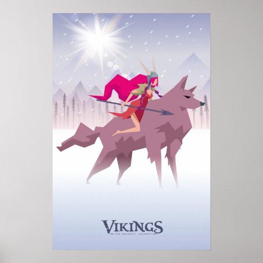 Viking Poster - Valkyrie
