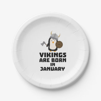 Vikings sont en janvier Zmwc7 nés Assiettes En Papier