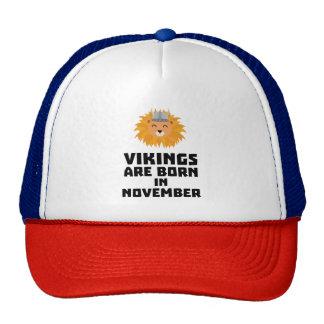 Vikings sont en novembre Zur82 nés Casquette Trucker