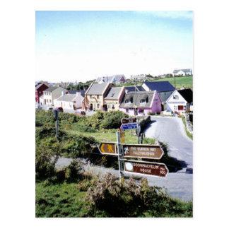 Village de Doolin, Irlande Carte Postale