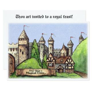 Village de la Renaissance Carton D'invitation 12,7 Cm X 17,78 Cm