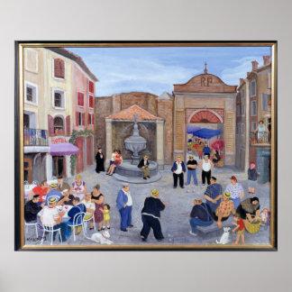 Village en Provence Posters