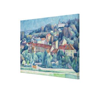 Village et château de Hardricourt Toiles
