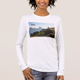 Village féroïen de Bøur : Chemise T-shirt À Manches Longues