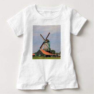 Village néerlandais de moulin à vent, Hollande 3 Barboteuse