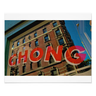 Village NYC de Blanchisserie-Greenwich de Chinois  Impressions Photographiques