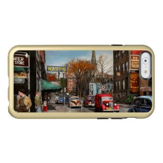 Ville - Amsterdam NY - Amsterdam du centre 1941 Coque iPhone 6 Incipio Feather® Shine