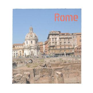 Ville antique de Rome, Italie Bloc-note