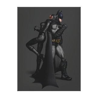 Ville | Batman de Batman Arkham et Catwoman Toile
