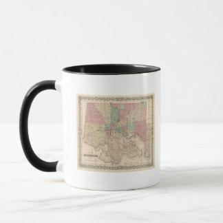 Ville de Baltimore, le Maryland Mug