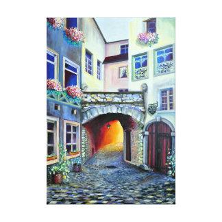 Ville de bohémien de Dreamscape Luxembourg Toile