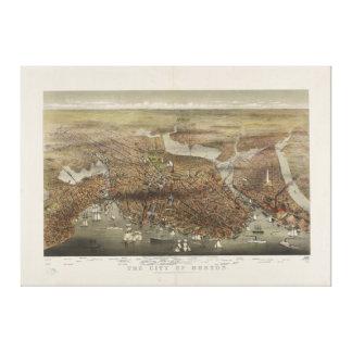 Ville de Boston le Massachusetts 1873 Toiles