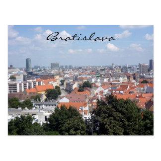 ville de Bratislava Carte Postale