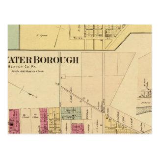 Ville de Bridgewater avec Shippingport Carte Postale