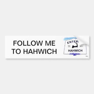 """Ville de Cape Cod, Hahwich (Harwich aux """"étrangers Autocollant De Voiture"""