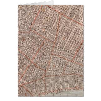 Ville de carte d'atlas de NY