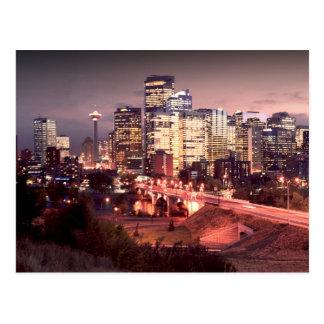 Ville de carte postale de Calgary