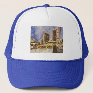 Ville de casquette de casquette de style de