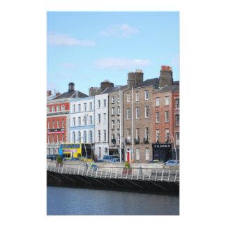 Ville de Dublin sur le Liffey Prospectus En Couleur