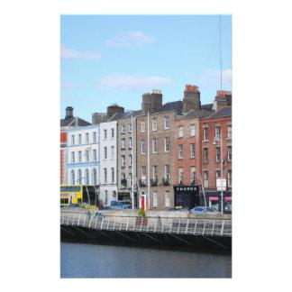 Ville de Dublin sur le Liffey Prospectus