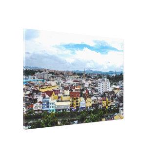 ✅Ville de Fort-de-France Martinique Toile
