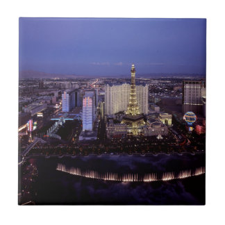 Ville de jeu de casino de vue aérienne de bande de petit carreau carré