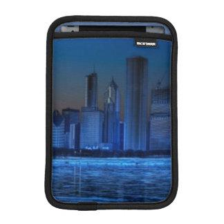 Ville de larges épaules et de lac Michigan Housse Pour iPad Mini