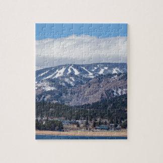 Ville de Nederland le Colorado et de pentes de ski Puzzle