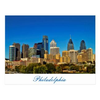 Ville de Philadelphie Carte Postale